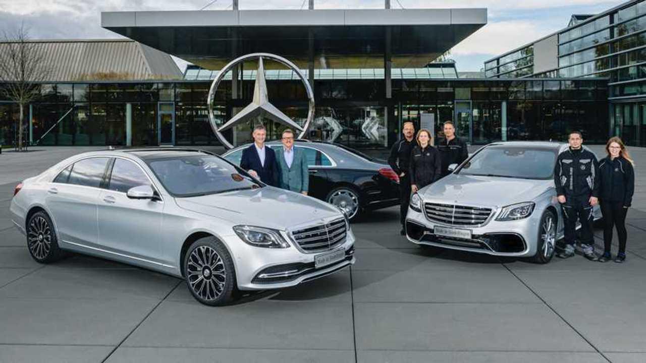 Mercedes-Benz S-Class production milestone