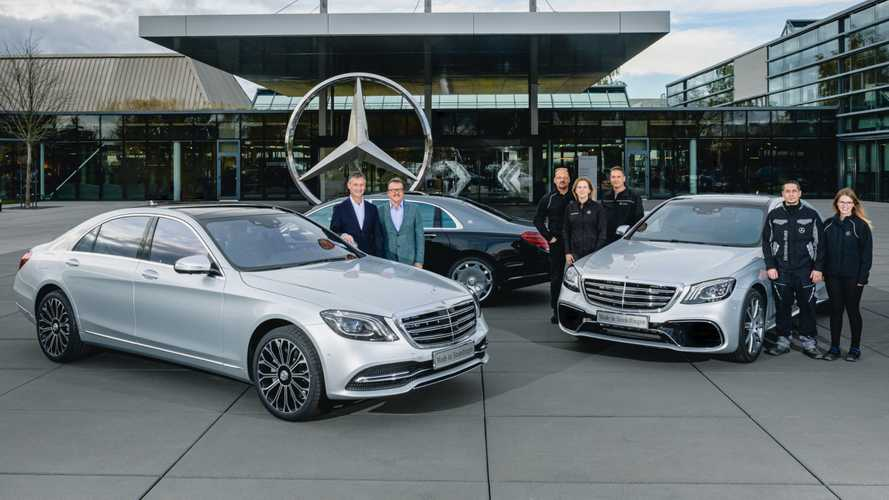 Mercedes has built 500k S-Class W222 saloons in Germany