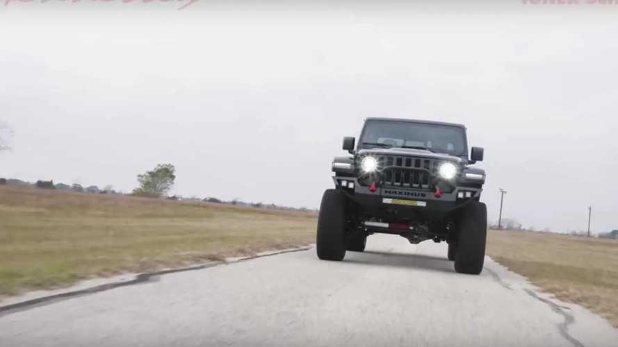 Jeep Gladiator Maximus con 1.000 CV en acción
