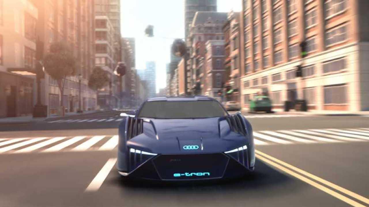 Audi RSQ E-Tron, una macchina da spia che non guiderete mai