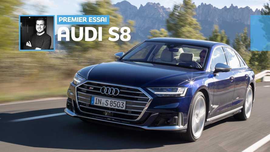 Essai Audi S8 (2019) – Cœur de rocker