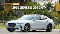 2020 genesis g70 20t review