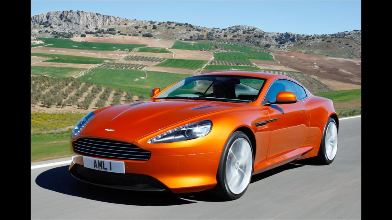 13 Exemplare: Aston Martin Virage