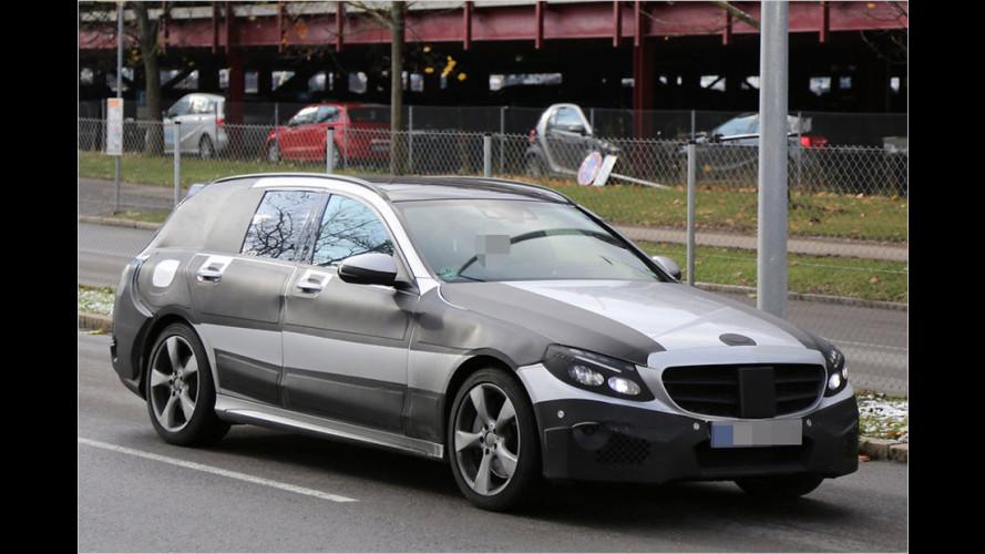 Erwischt: Mercedes C-Klasse Kombi