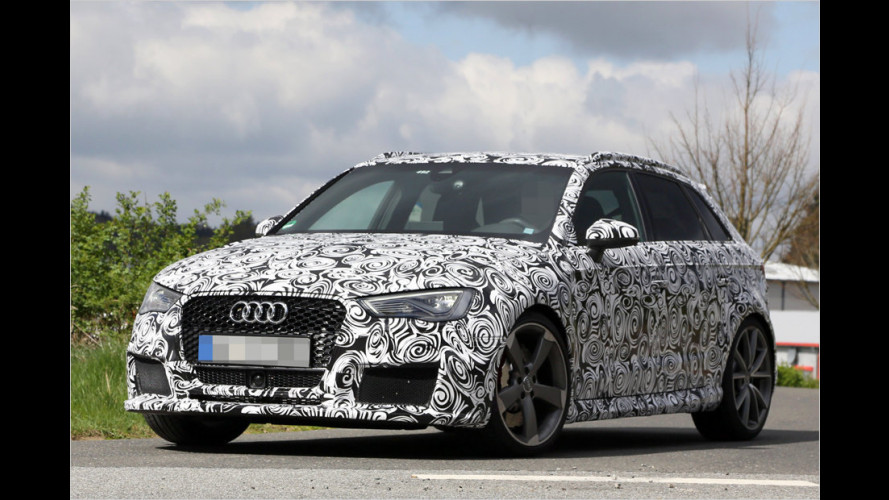 Erwischt: Audi RS3 Sportback