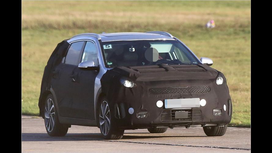 Neues Hybridauto soll zwischen Soul und Sportage schlüpfen