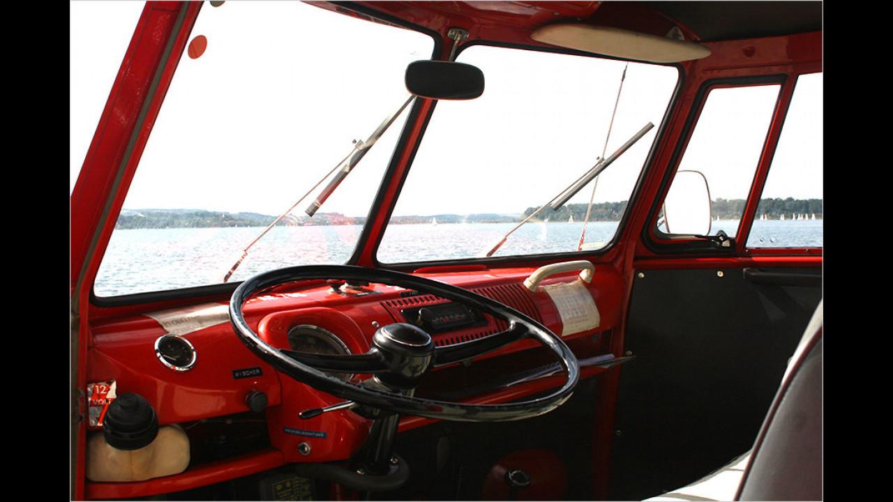 Einfaches Cockpit, simple Bedienung