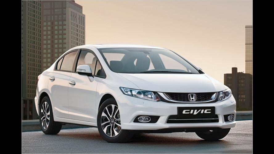 Honda Civic Limousine: Neu abgestuft