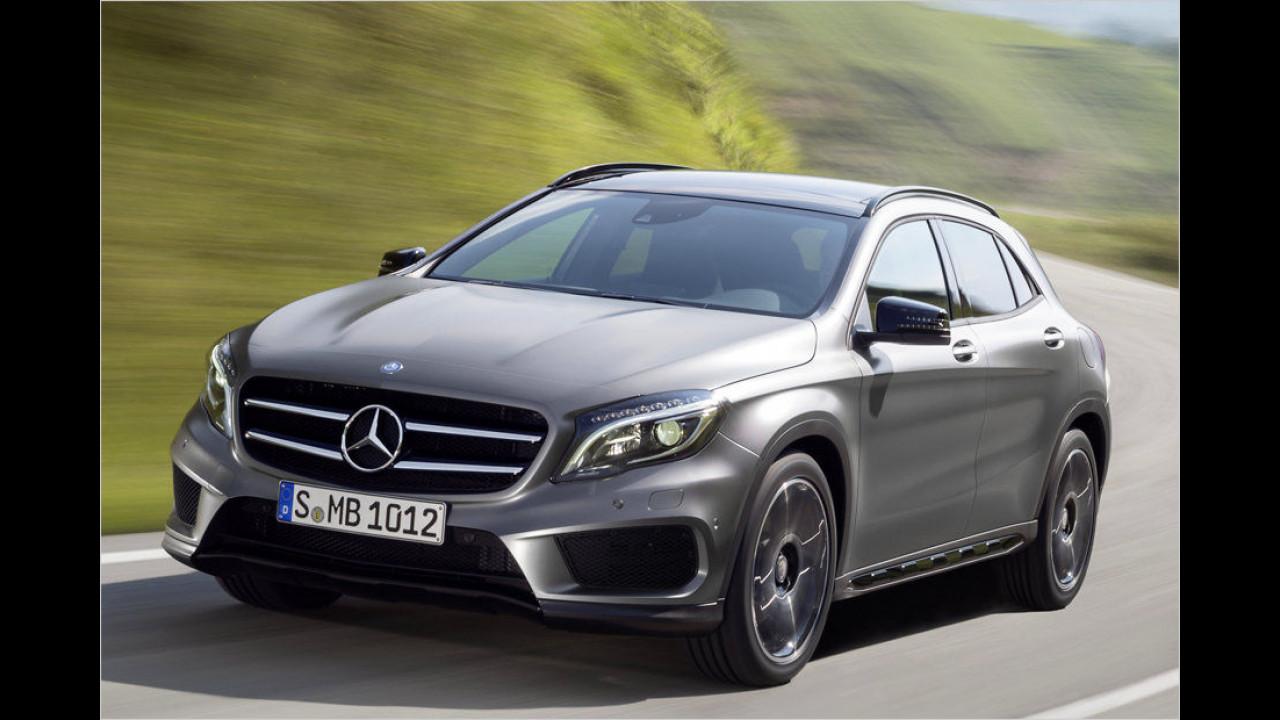 Mercedes GLA: 16.057 Neuzulassungen