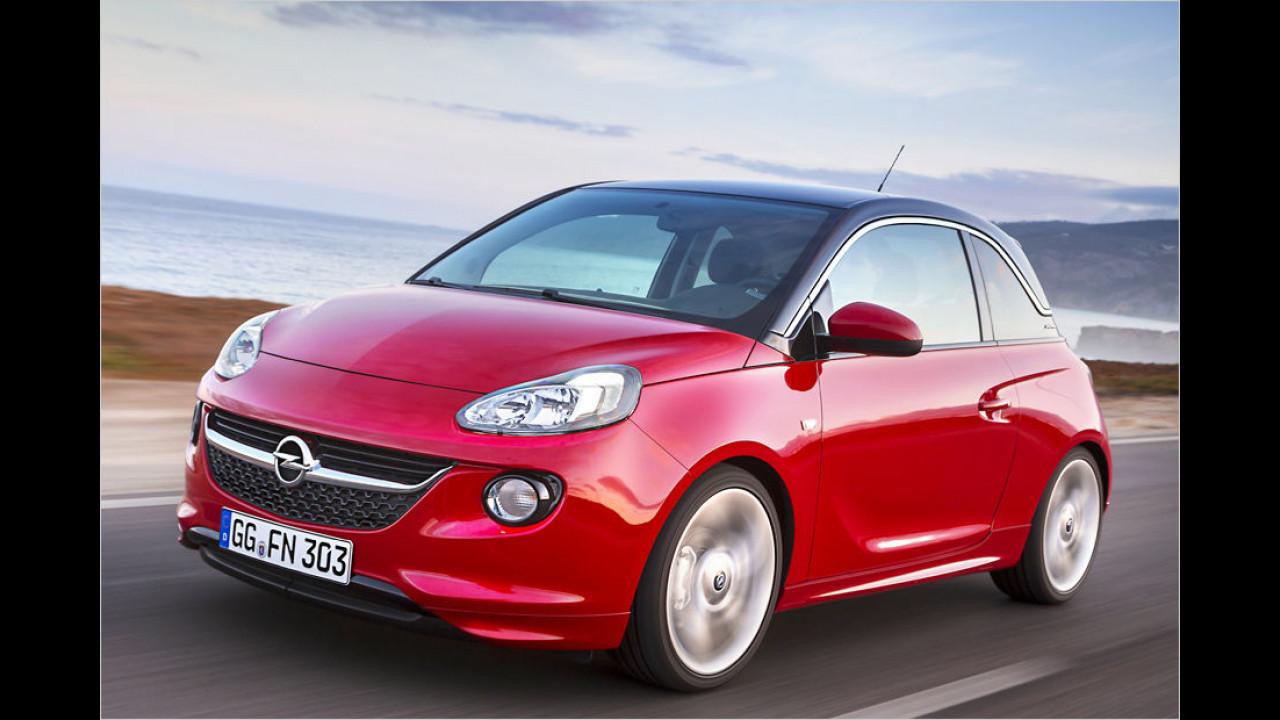 Minis, Platz 3: Opel Adam (6.467 Stück)