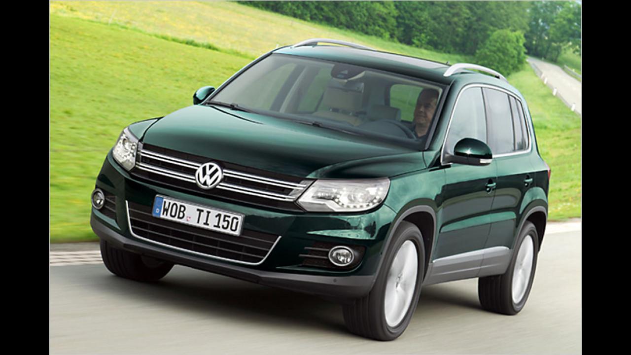 Platz 5: VW Tiguan