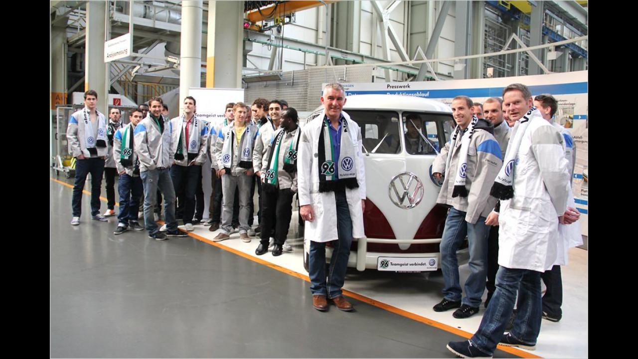 Hannover 96: VW Bulli