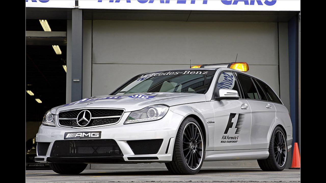 Formel 1 2013: Mercedes C 63 AMG T-Modell