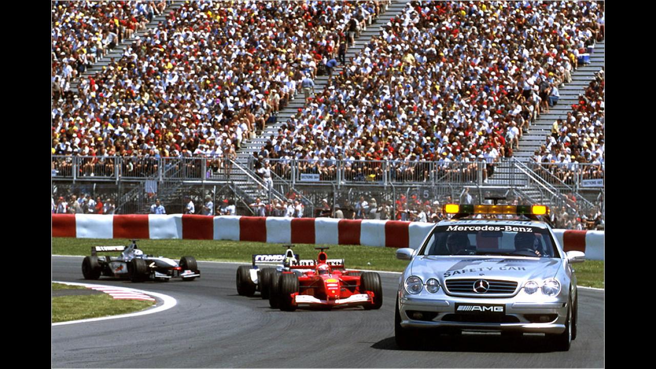 Formel-1-Saison 1999: Mercedes CL 55 AMG