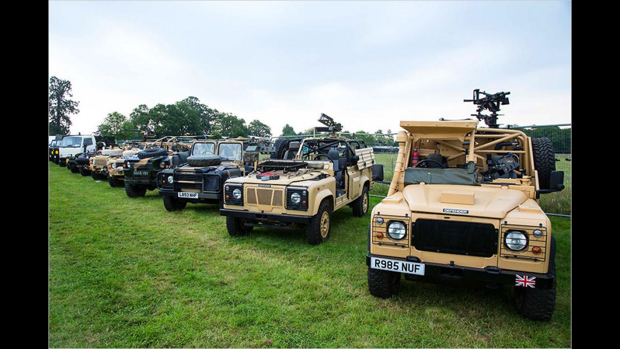 Land Rover und das Militär