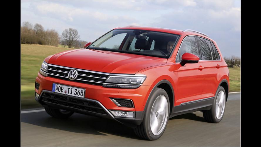 VW Tiguan (2016): Zweite Generation im Test