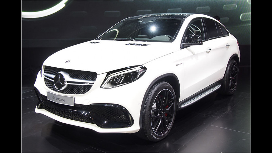 Mercedes-AMG GLE 63 Coupé in Detroit 2015