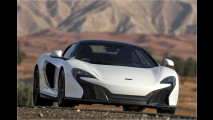 McLaren 650S Spider: Da bebt die Wüste