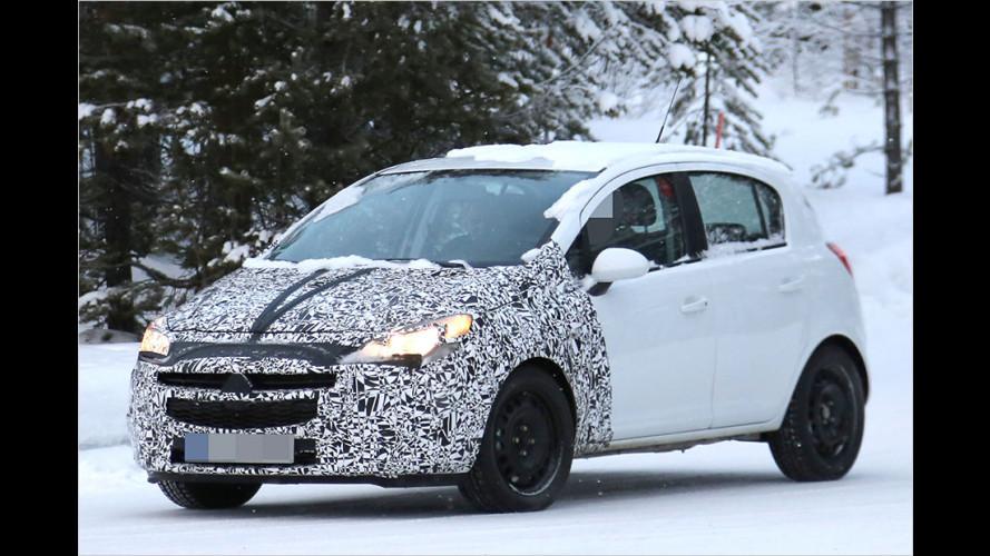Erwischt: Opel liftet den Corsa