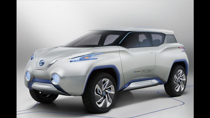 Nissan Terra: Kleiner Brennstoffroader