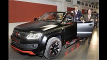 Dach ab: VW Amarok Cabrio