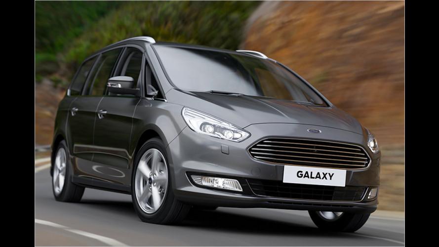 Ford gibt Preise für die neue Galaxy-Generation bekannt