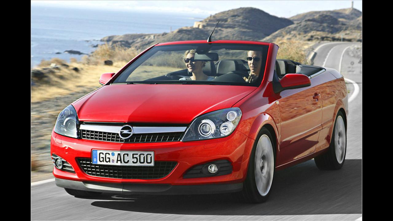 Platz 10: Opel Astra Cabrio