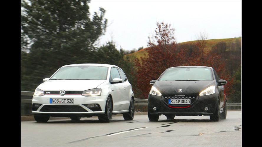 VW Polo GTI versus Peugeot 208 GTi 30th: Wer ist der geilere GTI?