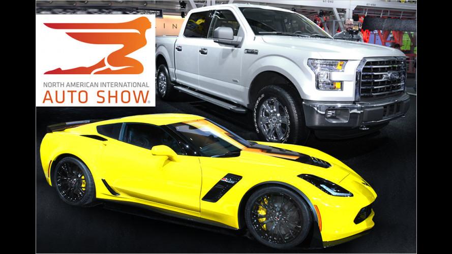 Die US-Marken auf der Detroit Motor Show (NAIAS) 2014