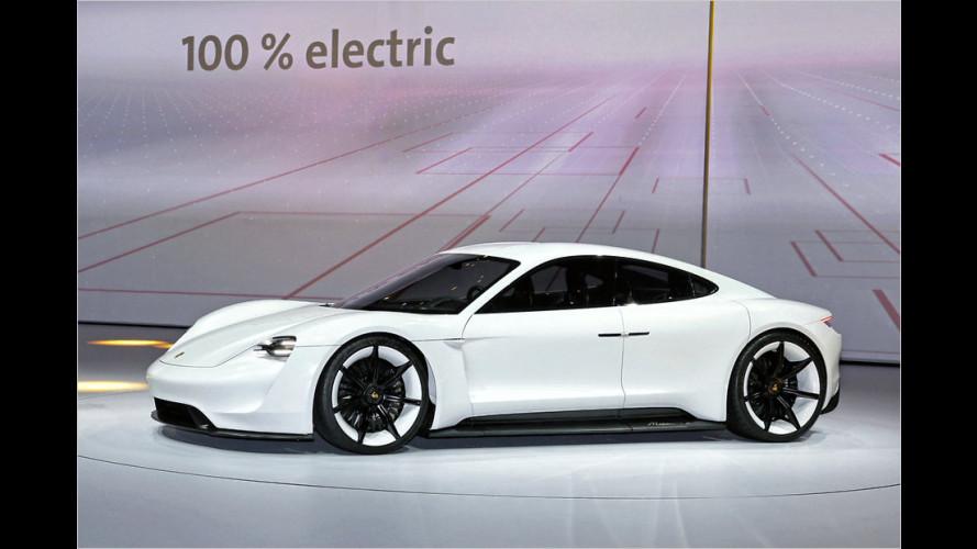 Porsche Mission E: Elektro-Sportwagen als Studie auf der IAA 2105