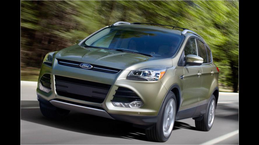 Neuer Ford Kuga debütiert als Escape