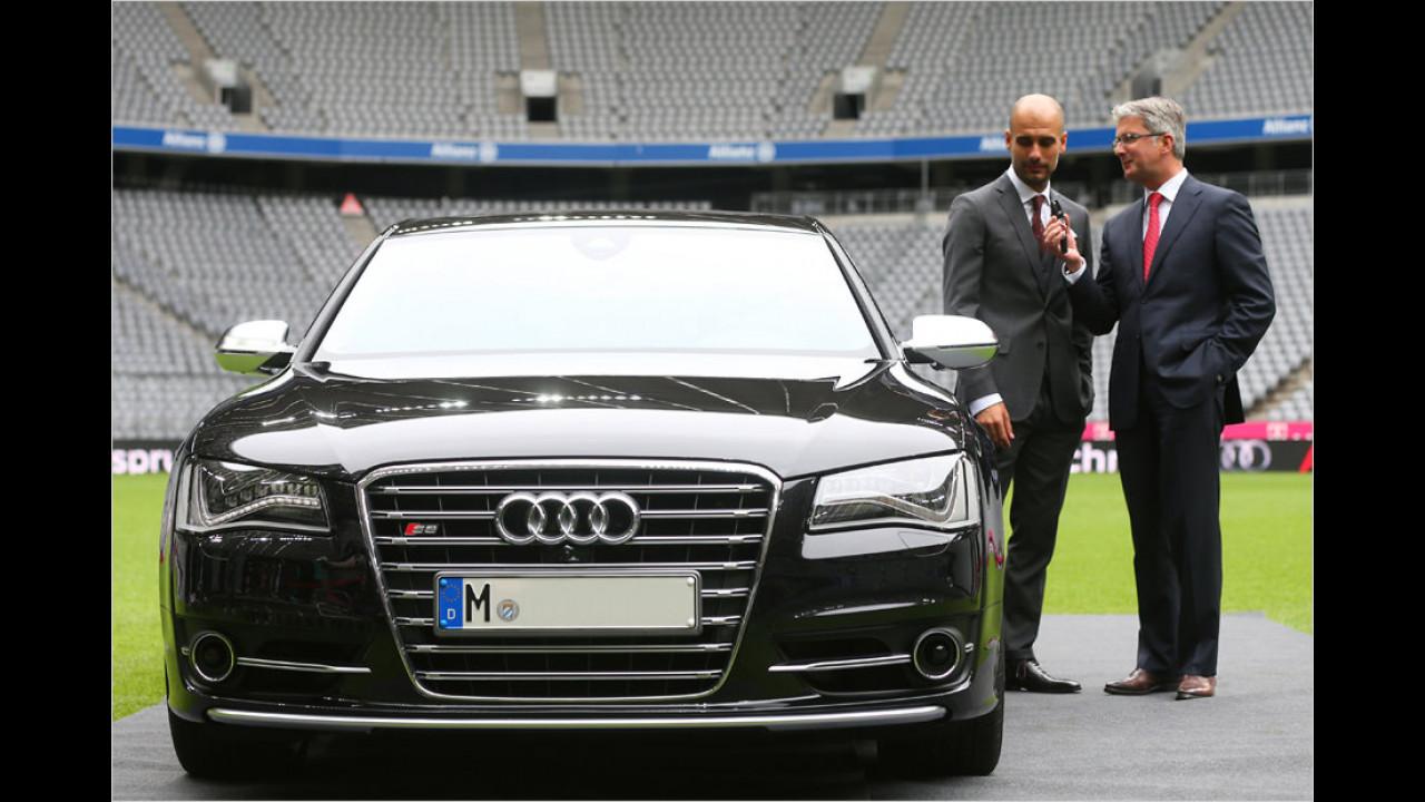 Pep Guardiola: Audi S8