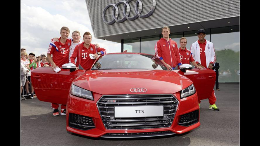 Spieler von Bayern München bekommen neue Audis