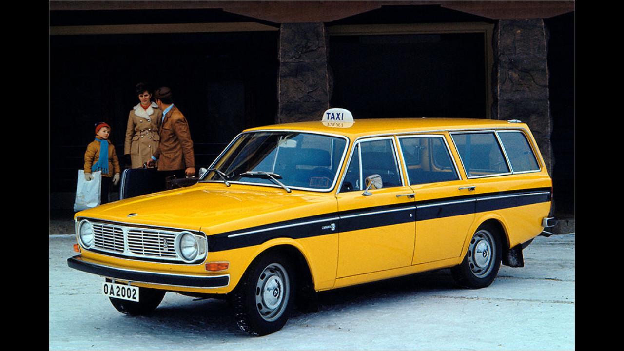 Volvo 145: Ab 1968 mit neuem Motor