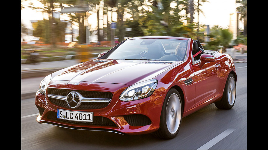Mercedes SLC 250 d im Test