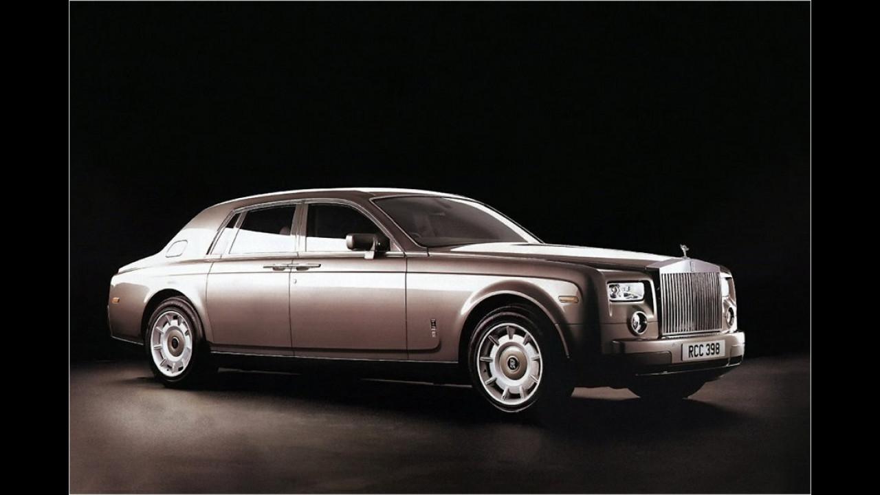 3. Januar 2003: Rolls-Royce Phantom