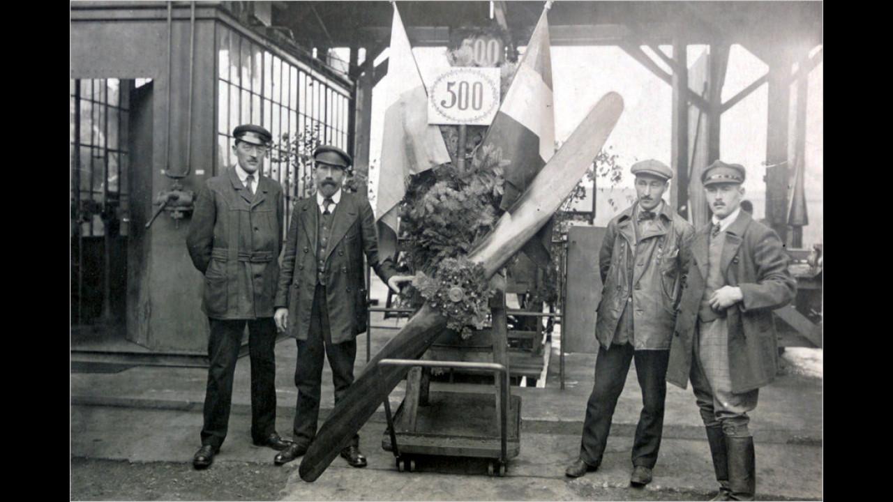 6. Juli 1922: Der Markenname wird übernommen