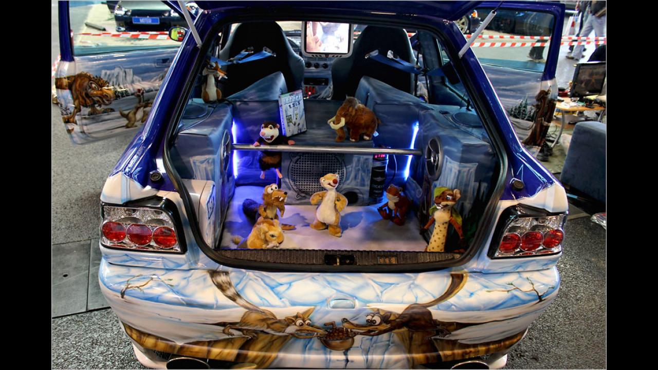 Die besten Anmach-Autos: Bei diesem Streichel-Zoo will jedes Girl mitfahren