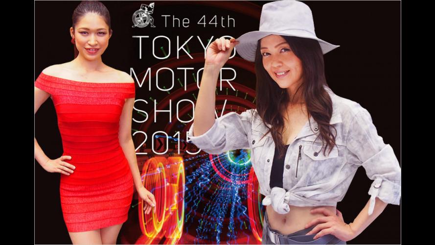 Tokyo Motor Show 2015: Die schärfsten Girls