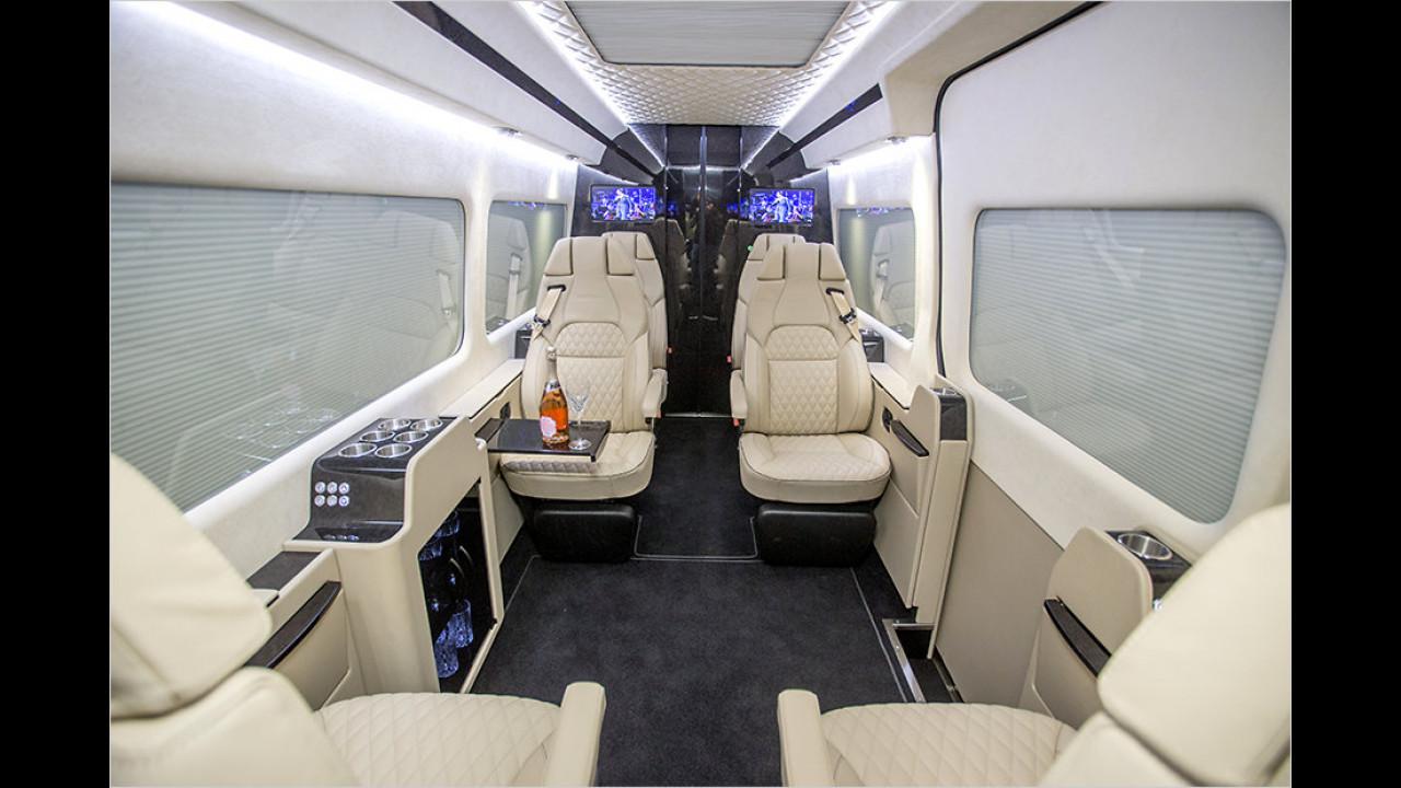 VIP-Fahrzeug von Senzati