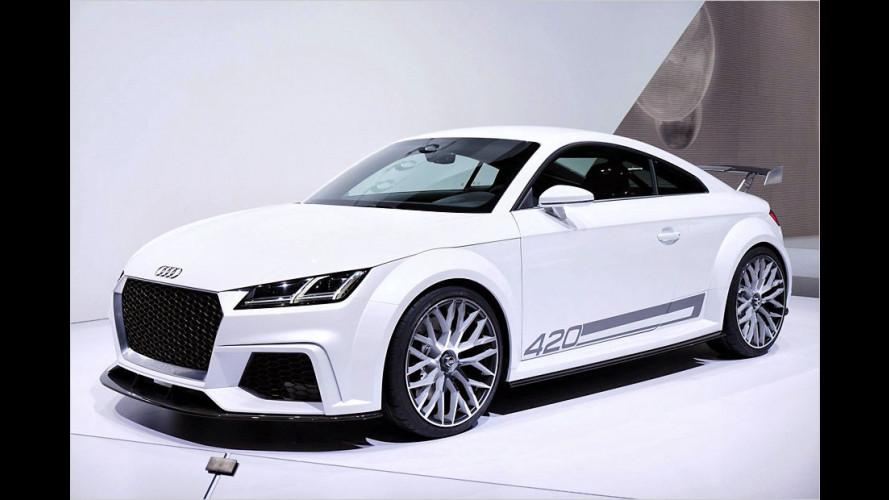 Audi TT quattro sport concept in Genf