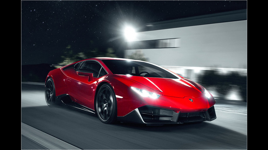 Novitec Torado tunt den Lamborghini Huracán LP 580-2