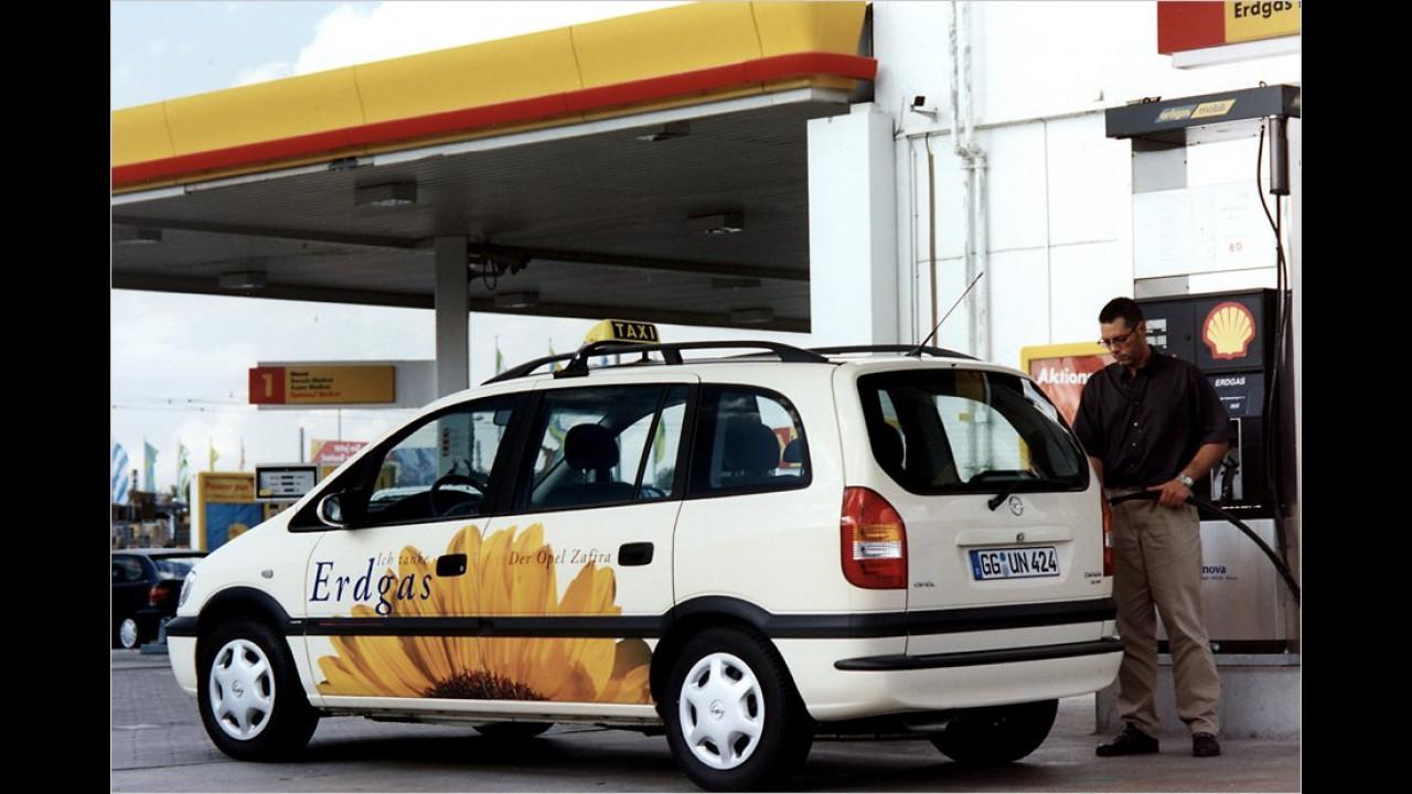 Opel Zafira CNG (2002)