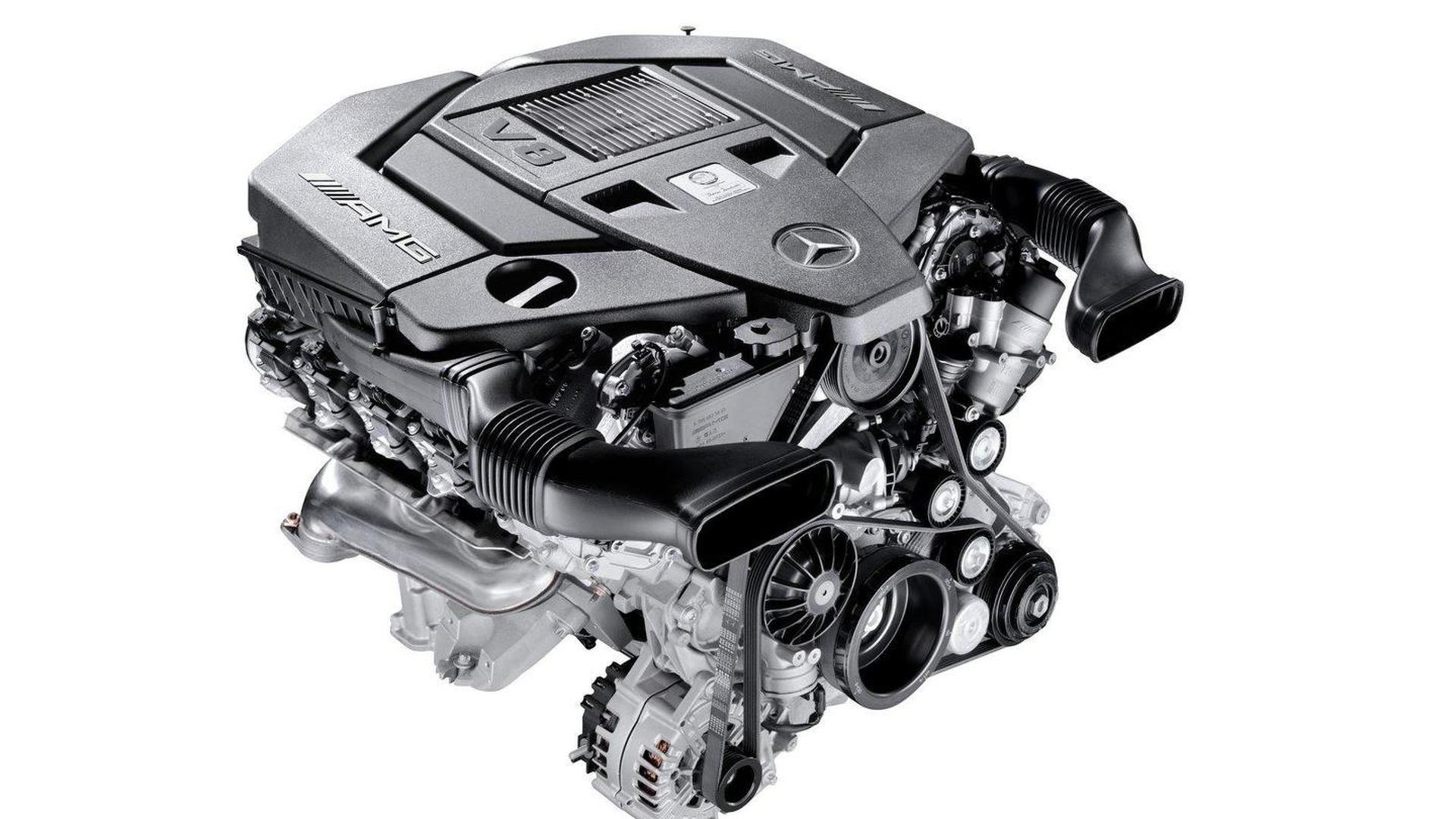 Mercedes-Benz introduces new AMG-developed 5 5 liter V8