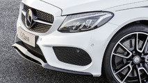 Mercedes-Benz C-Class with AMG accessories