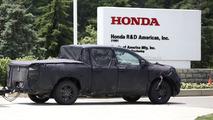2017 Honda Ridgeline spy photo