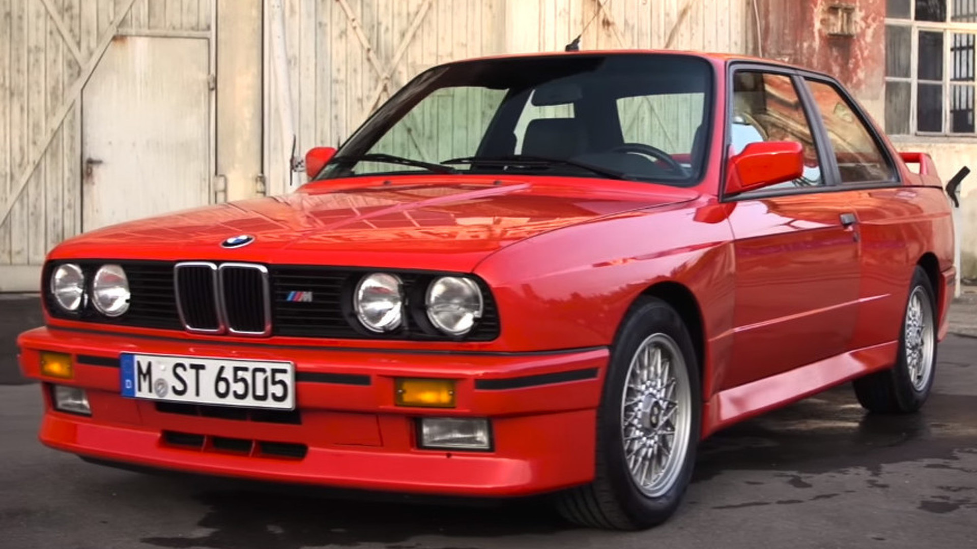 Bmw Reminds Us Why M3 E30 Is So Cool Video