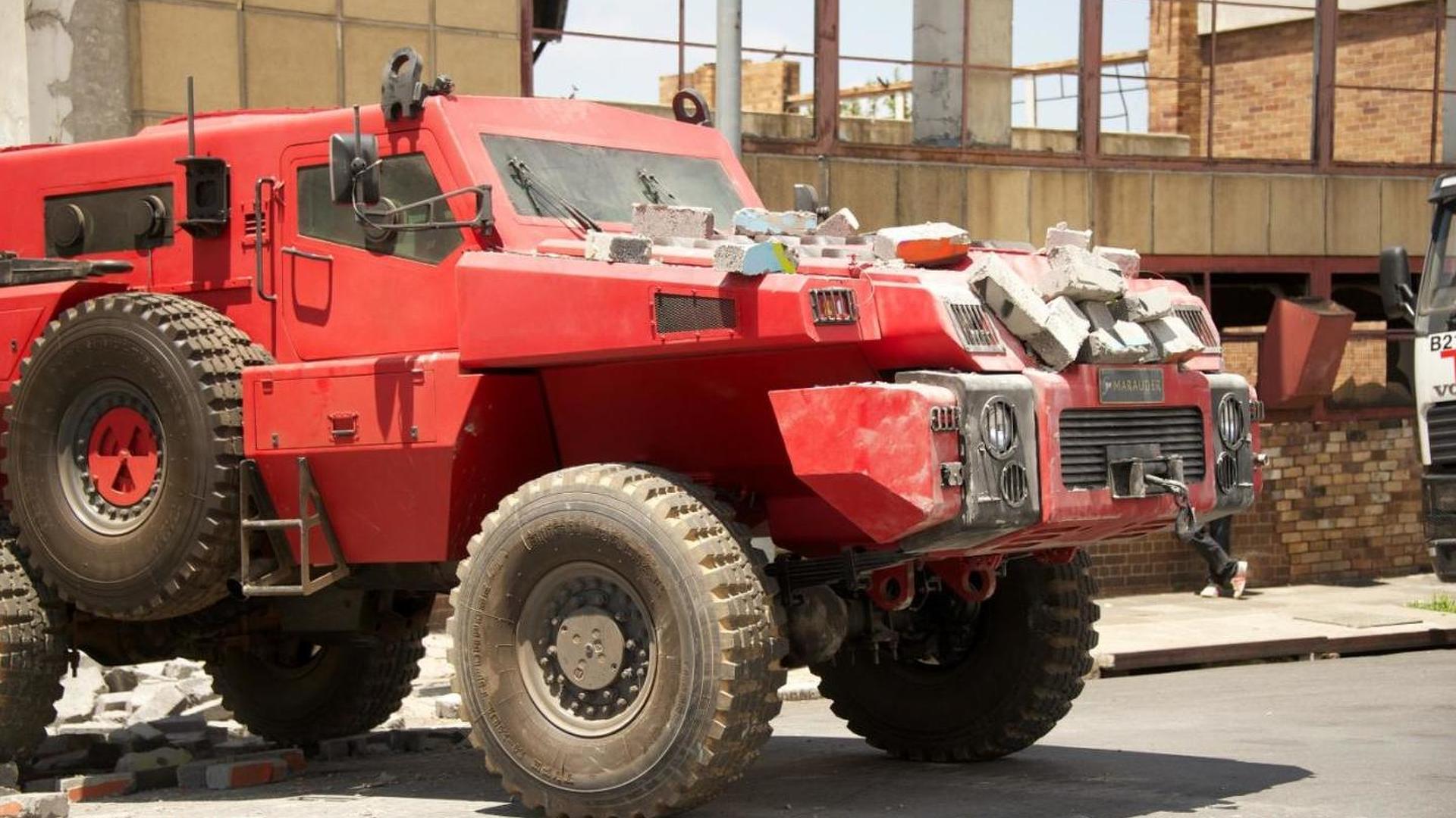 Vehículo blindado merodeador presentado en Top Gear-blindajes nacionales