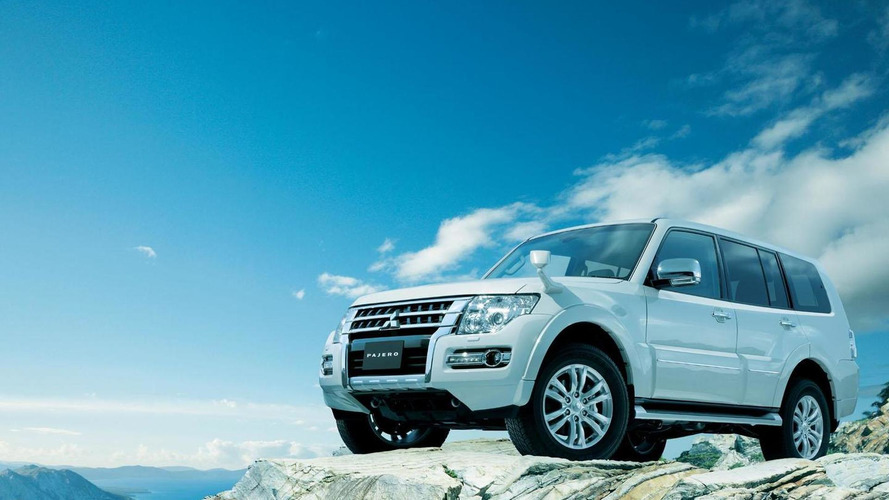2015 Mitsubishi Pajero facelift revealed in Japan