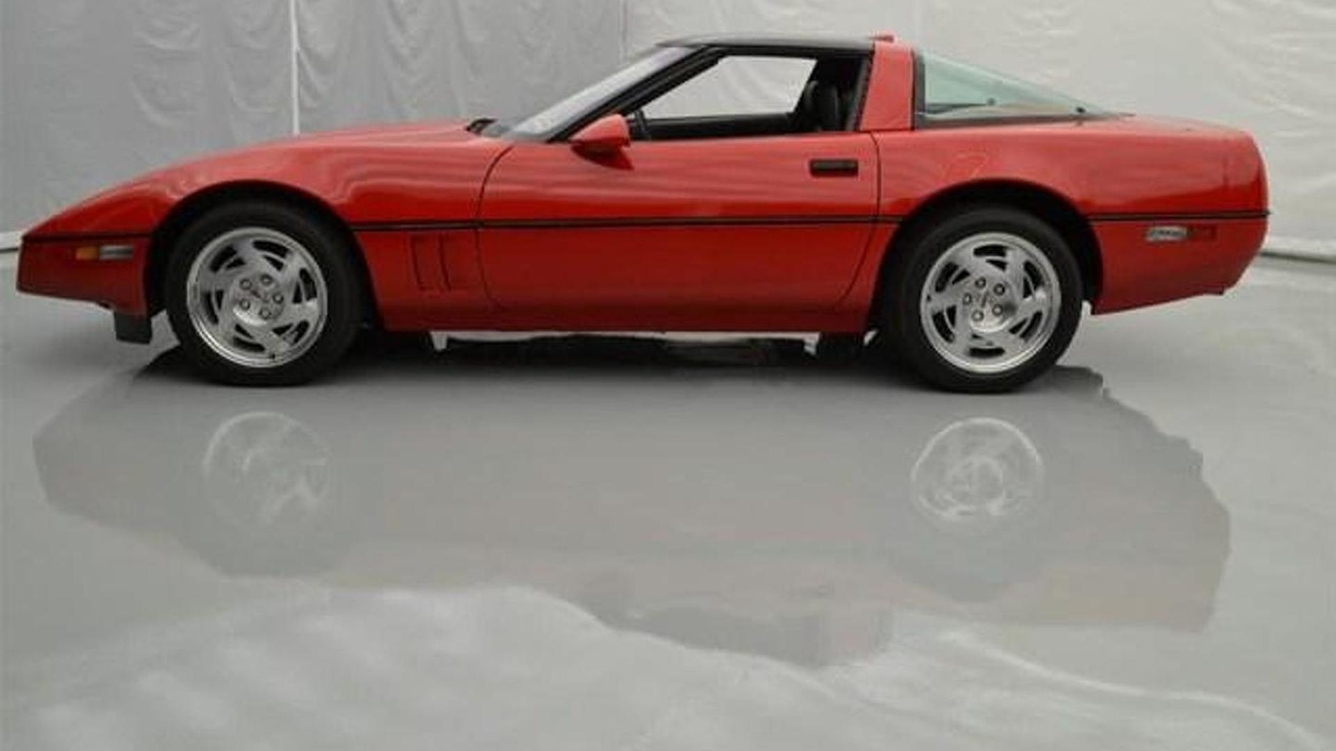 1990 Chevrolet Corvette Zr1 Driven For Only 127 Miles Listed On Ebay 77 Pics